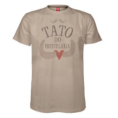 koszulka dla taty tato do przytulania