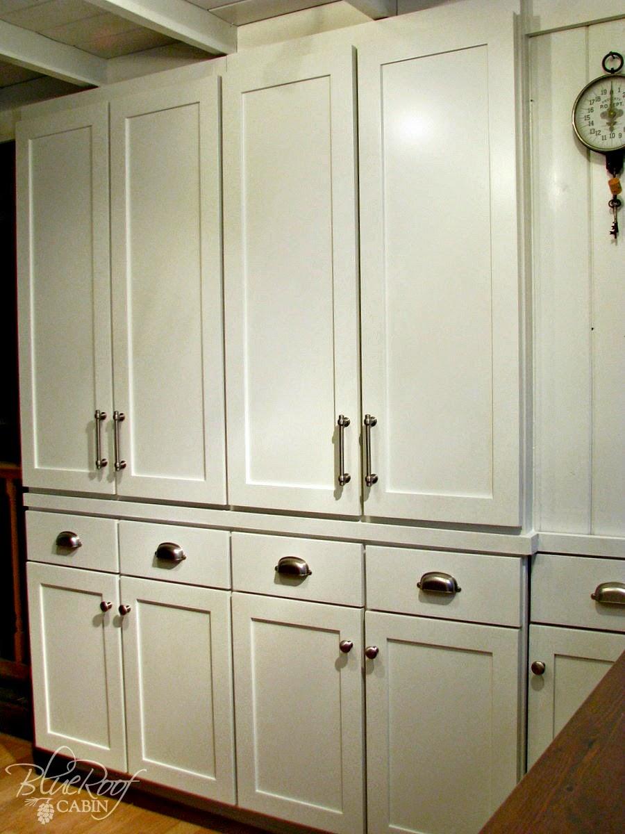 blue roof cabin diy pantry cabinet using custom cabinet doors. Black Bedroom Furniture Sets. Home Design Ideas