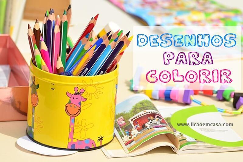 desenhos de personagens para colorir
