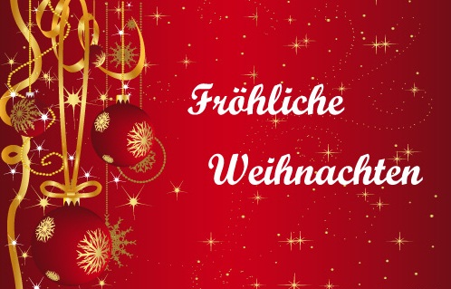 Merry Christmas quotes in German