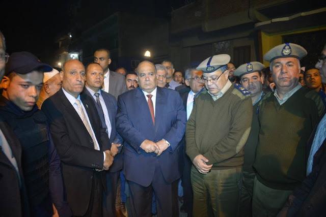 قرية جصفا تتشح بالسواد لاستقبال جثمان شهيد سيناء