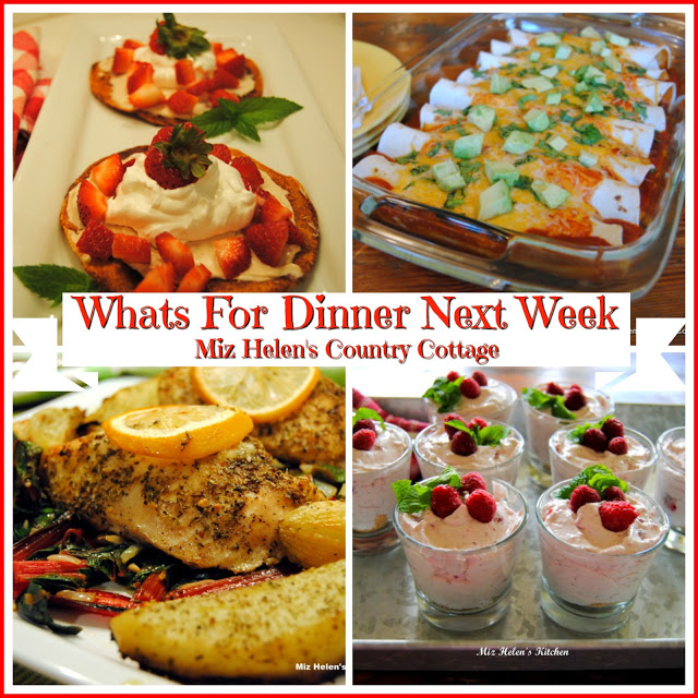 Whats For Dinner Next Week * Week of 4-18-21