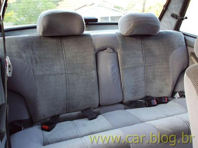Ford Del Rey Ghia 1.8 1989 - banco traseiro