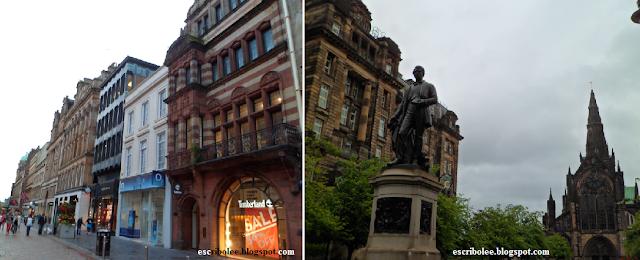 Viaje a escocia: día 7: Glasgow: calle principal, y Glasgow: la única zona interesante