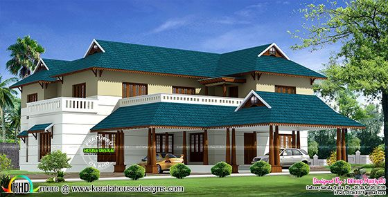 Traditional Kerala home design
