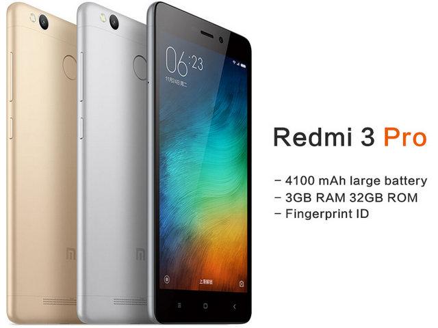 Xiaomi Redmi 3 Pro, Lengkap Spesifikasi dan Harga Terbaru 2016