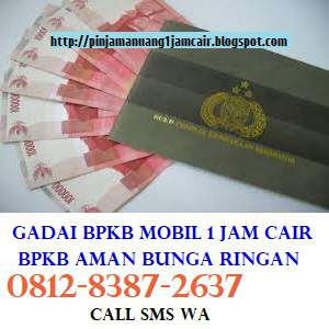 Pinjaman uang tunai jaminan BPKB Mobil tangerang
