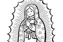 Imagenesparacolorearwebsite Dibujos Para Colorear Virgen De Guadalupe