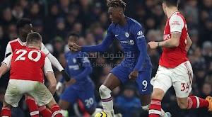 آرسنال يفرض التعادل المثير على تشيلسي في ديربي لندن في الدوري الانجليزي