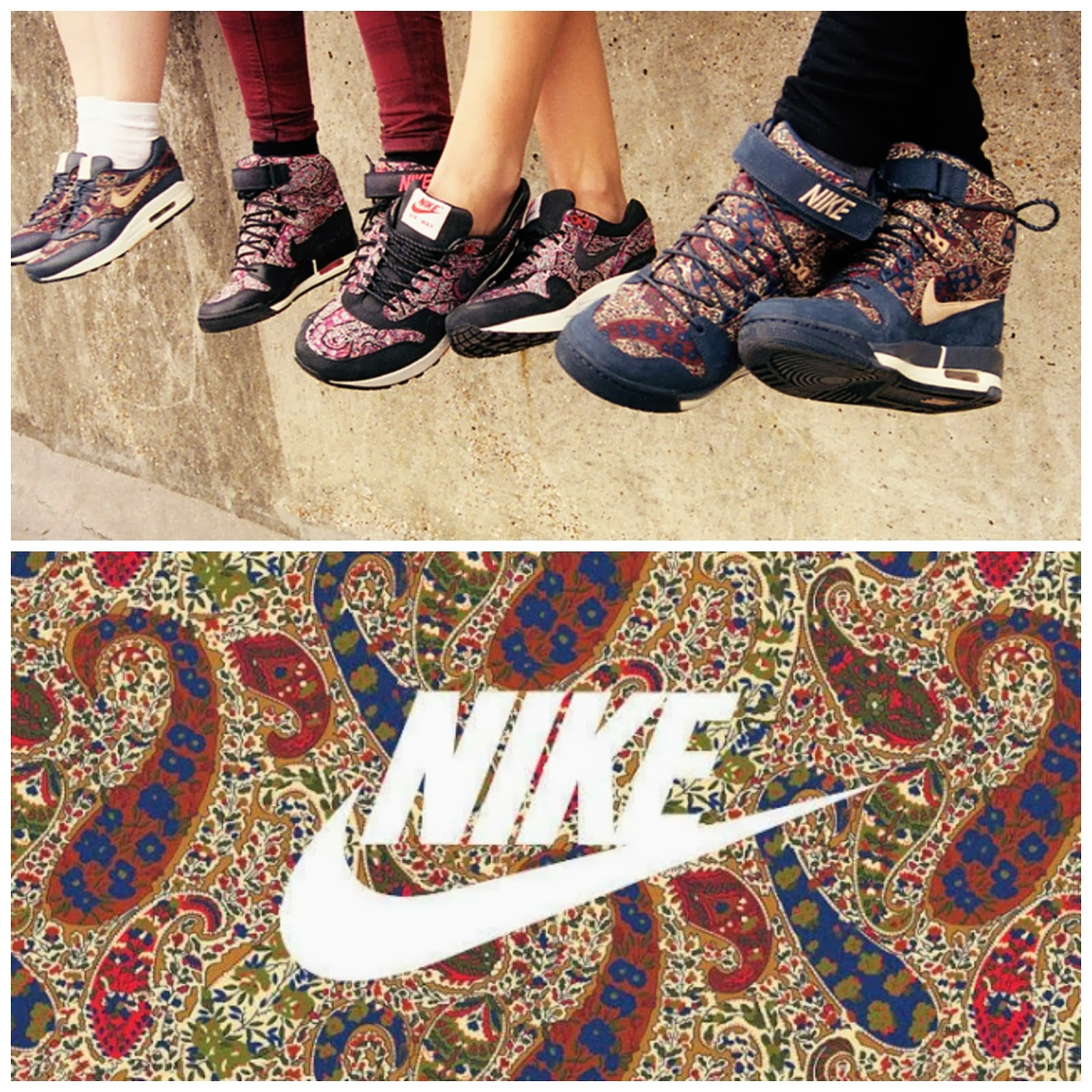 premium selection 19132 07077 Nike air revolution sky high is one series 2014 new hot shoes . This nike  air revolution sky high trainers is in london liberty pattern .