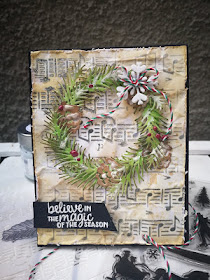 Believe in the magic of the dream by Piccole features Winter Memories, Musical, and Pines & Holly by Newton's Nook Designs; #newtonsnook