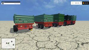 Four Farmtech trailers pack