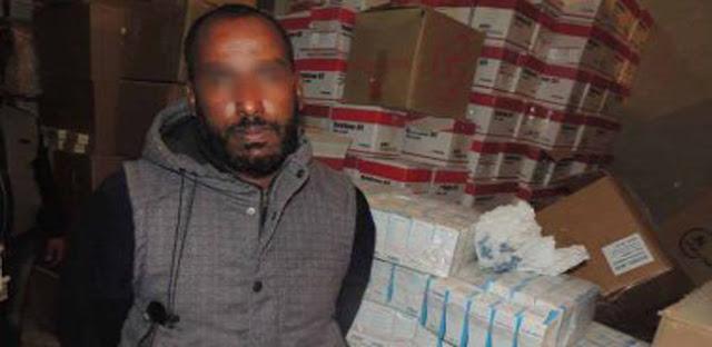 الطبيب المتهم بتخزين الأدوية داخل بمخزن مدينة نصر