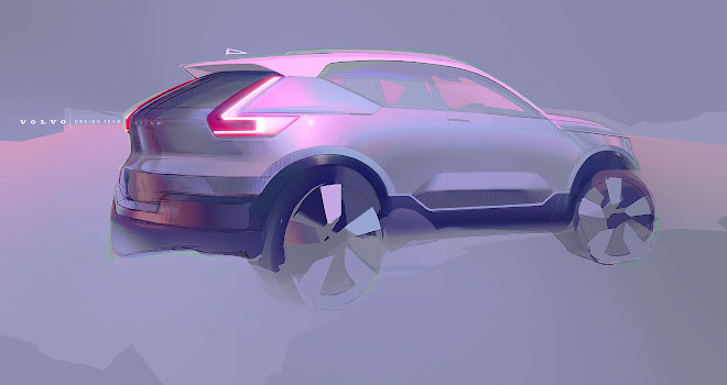 Volvo XC40 sketch