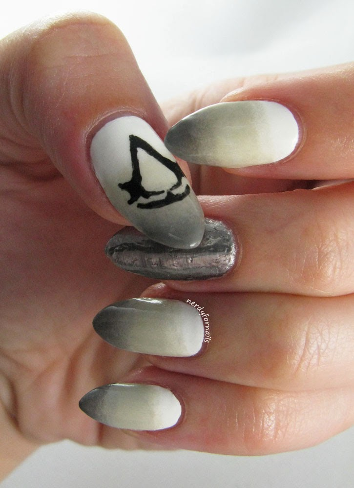 Nerdy for Nails: Assassin\'s Creed Nails