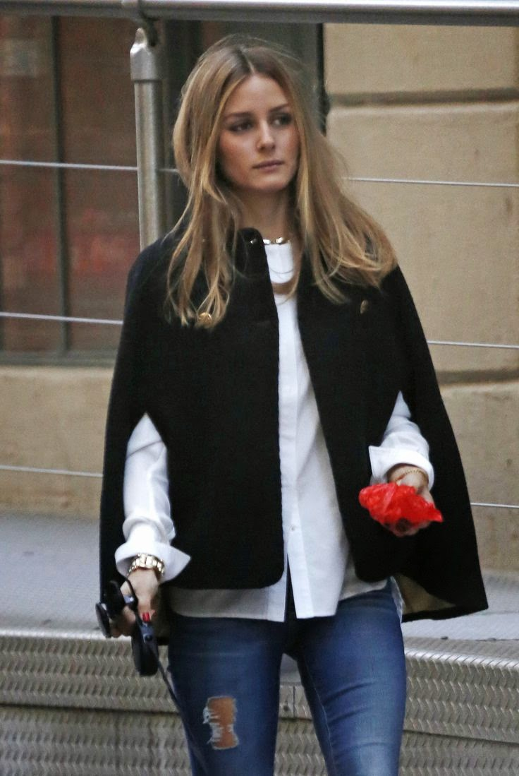 The Olivia Palermo Lookbook Olivia Palermo In New York