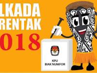 Hasil Quick Count Pilkada Kab Biak Numfor 2018/2019