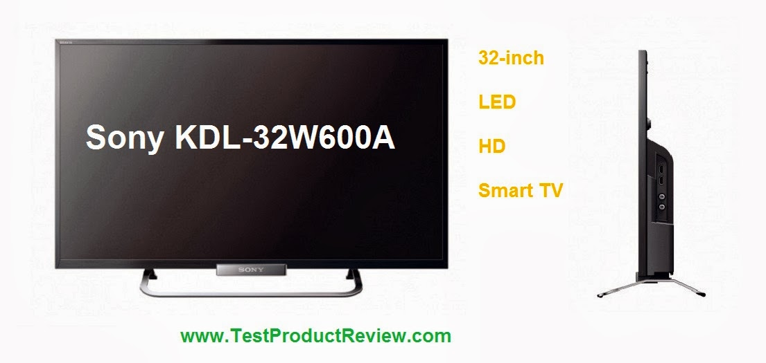 sony kdl 32w600a 32 inch smart hd led tv price specs and. Black Bedroom Furniture Sets. Home Design Ideas