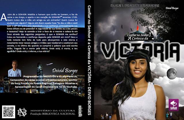 Autor Januarense lança livro com a participação de atores da cidade - Januária - MG CONFIAR NO SENHOR É A CERTEZA DA VICTÓRIA - DEIVID BORGES