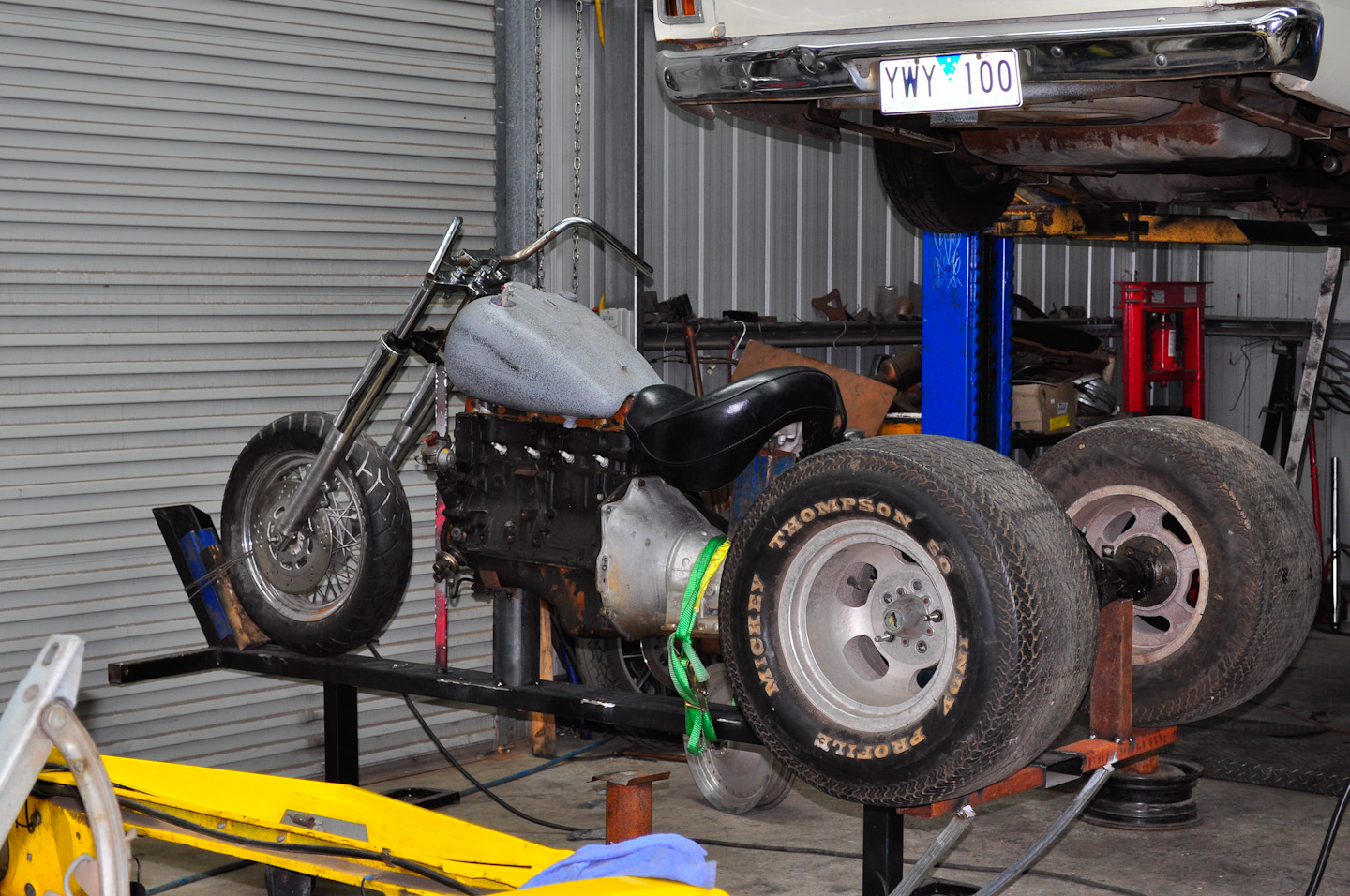 Hodgey's Hot Rods and Customs: Dad's Trike