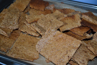 Sourdough Graham Crackers