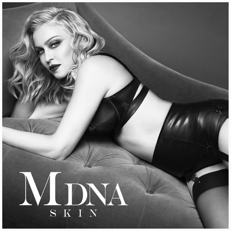 Madonna gets fierce for the MDNA Skin Campaign