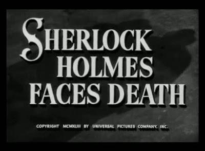 Sherlock Holmes desafía a la muerte (Desafiando la muerte) (1943) Sherlock Holmes Faces Death