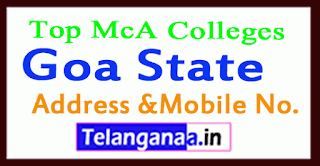 Top MCA Colleges in Goa