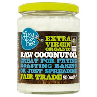 extra virgin organic raw coconut oil jar