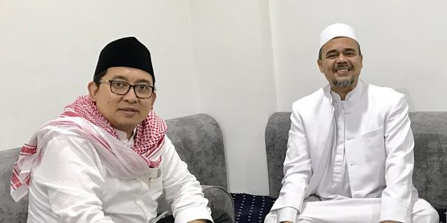 Fadli Posting Foto Makan Nasi Kebuli bersama Habib Rizieq di Mekkah, Netizen Riuh Bertanya, Kapan Pulang