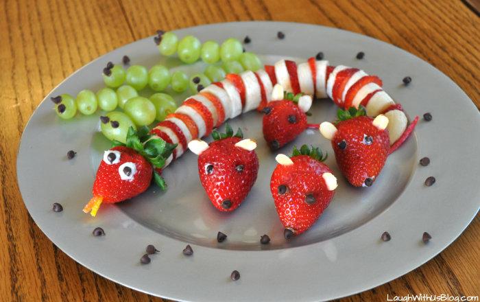 Snacks De Frutas Para Ninos - Manualidades-con-frutas-para-nios