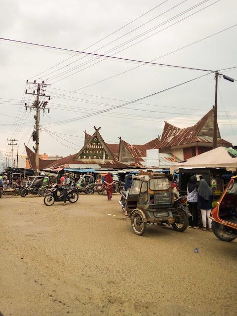 Pasar di Padang Lawas, Tapanuli Selatan