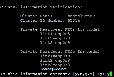 Configure two node VCS Cluster - Screenshot 8