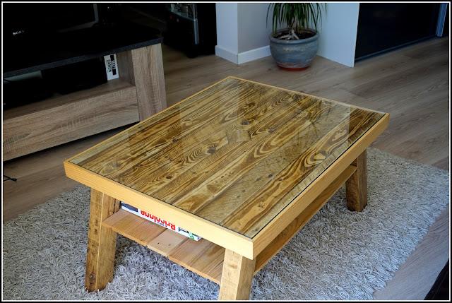 Comment faire une table basse en palette - Faire une table basse en palette ...