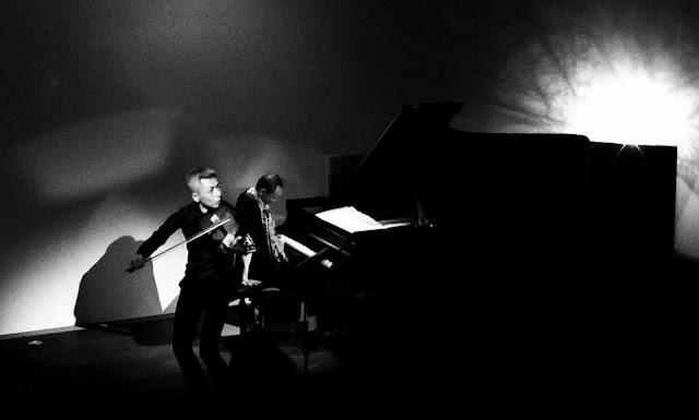 喜多直毅(violin)田中信正(piano)