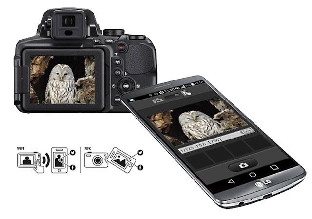 Nikon P900 Wifi Fotoğraf Aktarma