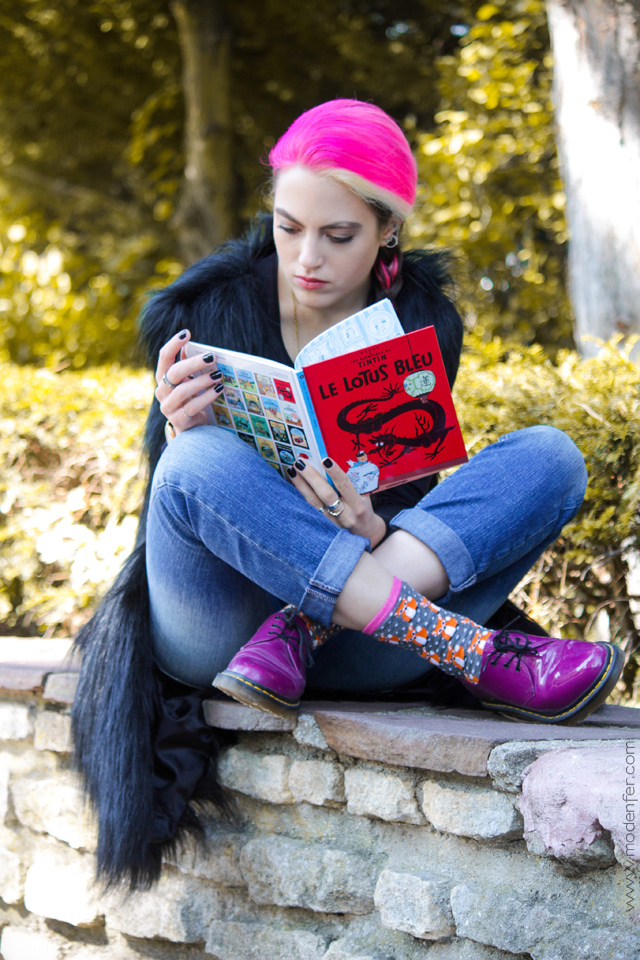 modenfer, fashion, blog, fashion blog, fashion blogger, fur, faux fur, black faux fur, em em szop, pink hair, pastel hair, alternative style, alternative fashion, rock, rebel, metal, metal girl, paris, france, parisian, french, frenchie, mode, parisienne, mode parisienne, fringues, rebelle, cheveux roses, paryż, francja, moda, paryska, blogerka, blogerka modowa, moda alternatywna, ootd, lookbook, outfit,