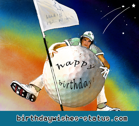 Birthday Wishes for Golfers