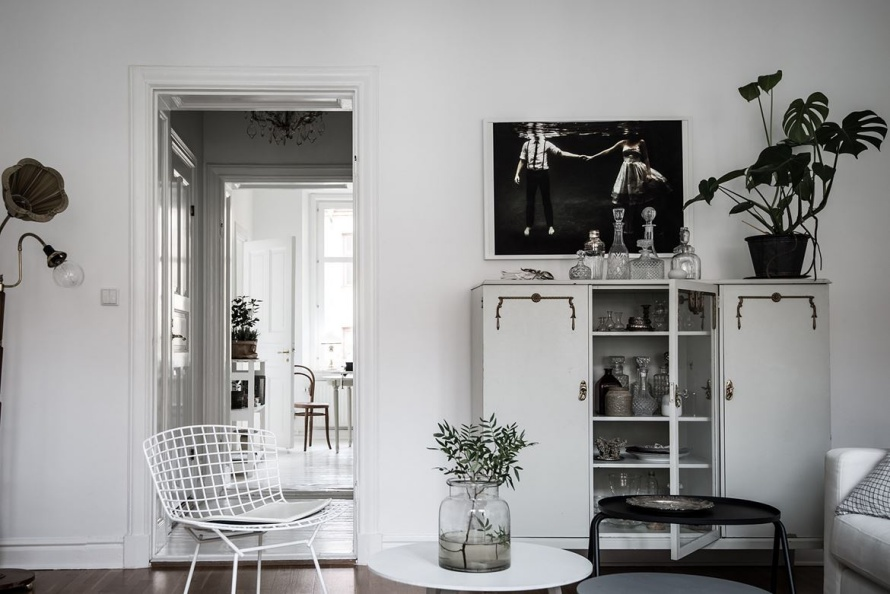 Decor inspiration scandinavian design apartment on hvitfeldtsgatan cool chic style fashion Scandi decor inspiration