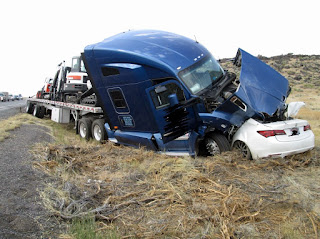Two-Vehicle Fatality Crash on US93 north of Jackpot, Nevada