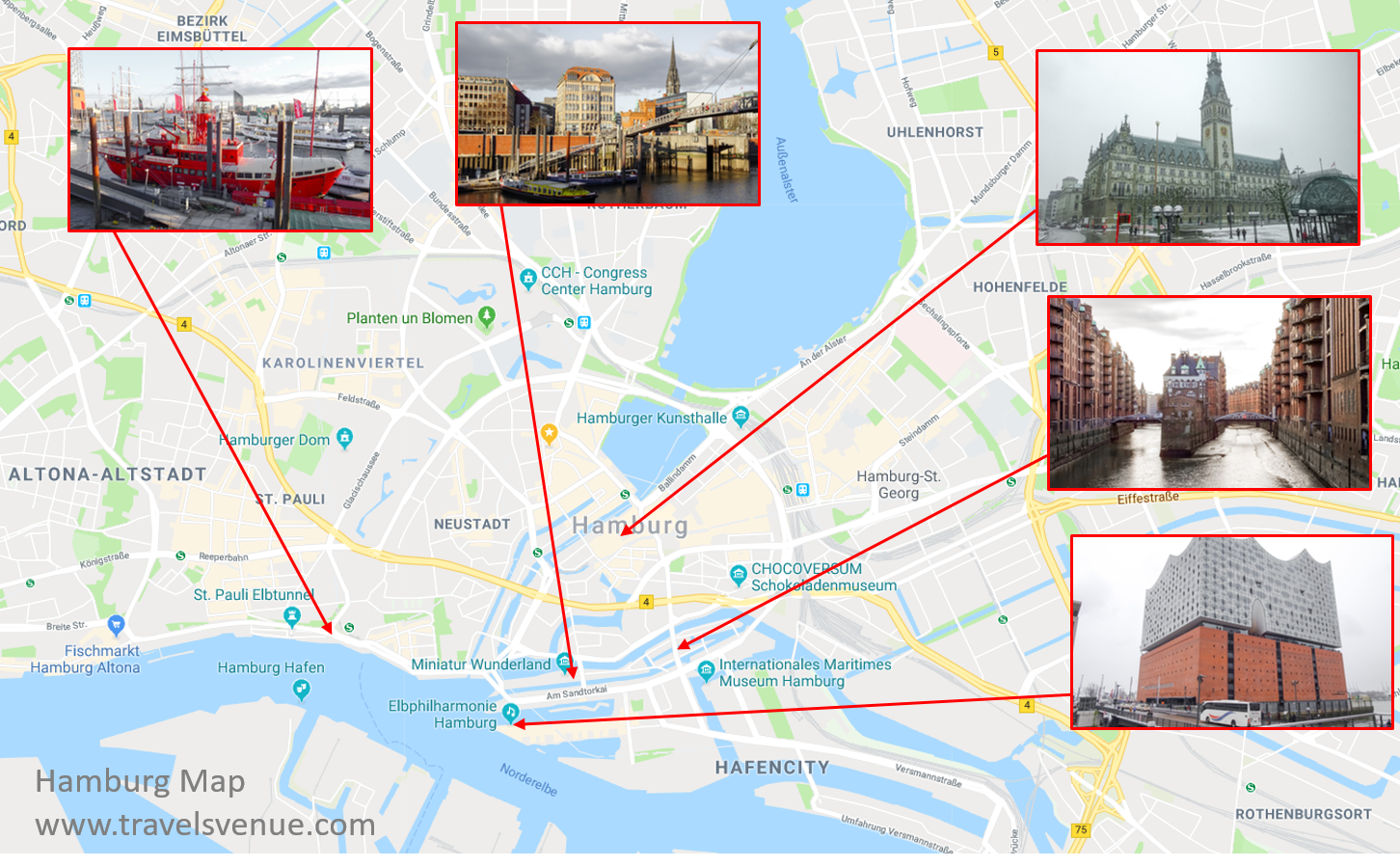 Germany Russia attacks Hamburg Svens Travel Venues
