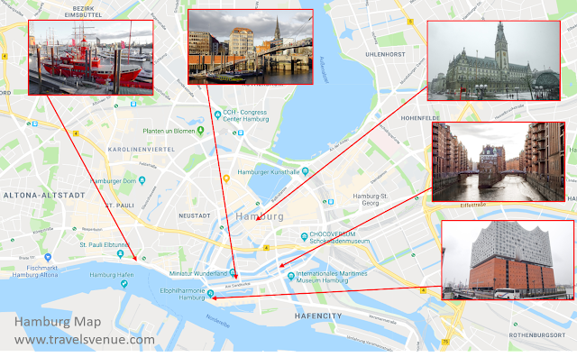 Tourist Map Sightseeing