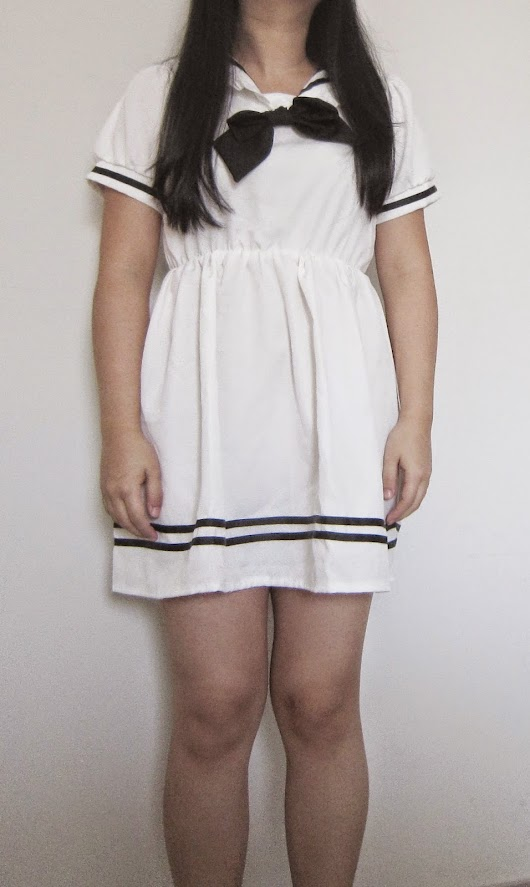 Review || Sailor Ruffle Dress