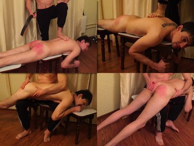 RusStraightGuys - Soldier Sasha 26 y.o. FULL hard whipping