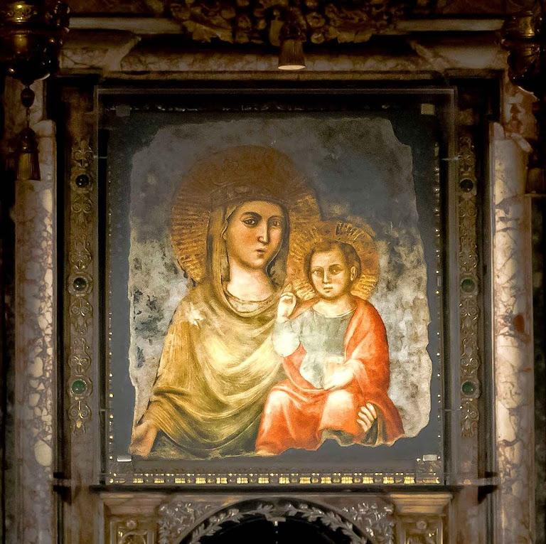 Madonna della Strada, Chiesa del Gesù, Roma.