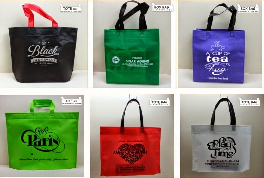 Tas Promosi, Spunbond, Tas Belanja dan promosi