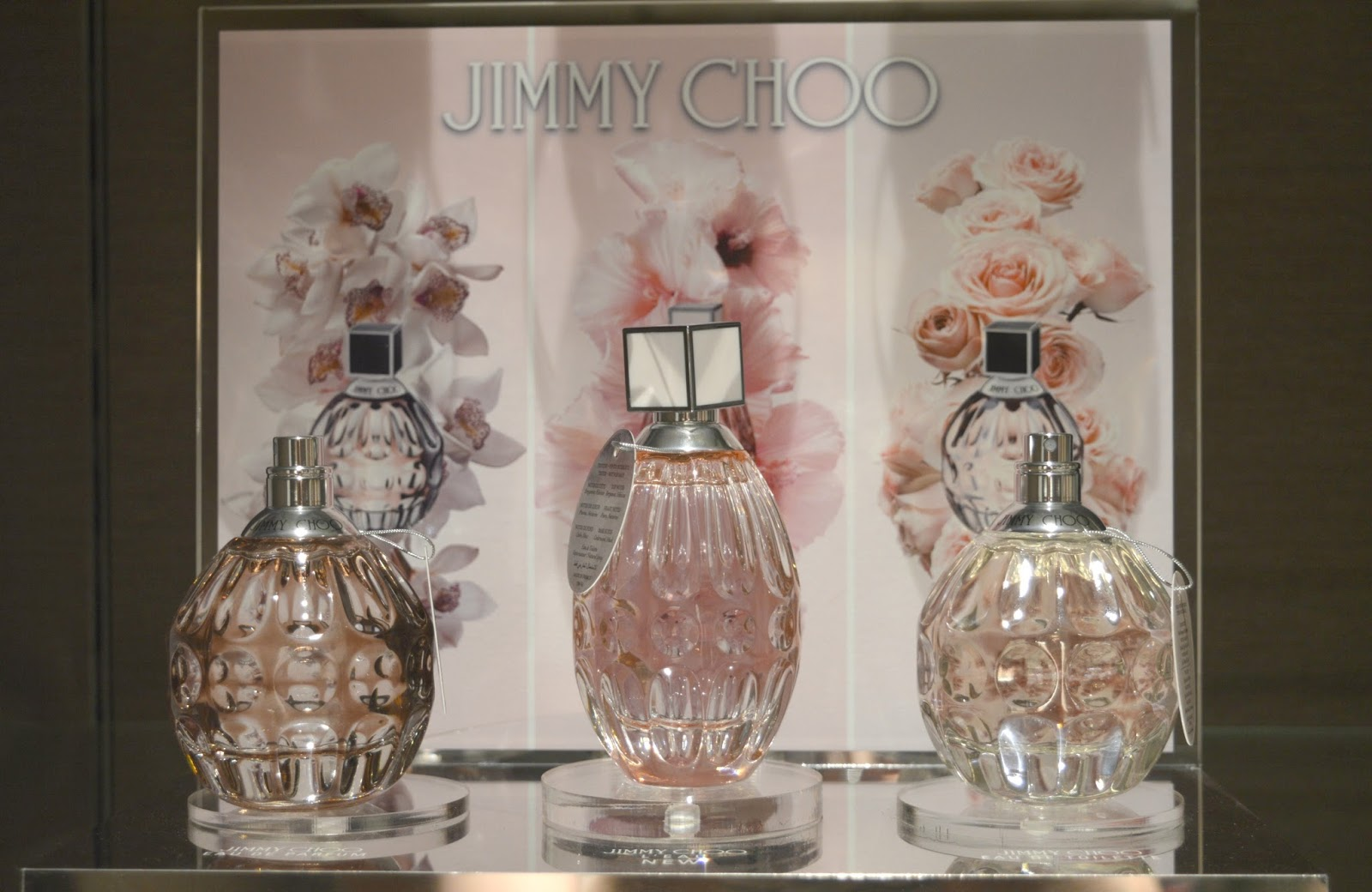 Summer Fragrances at House of Fraser, Intu Metrocentre - Jimmy Choo L'Eau