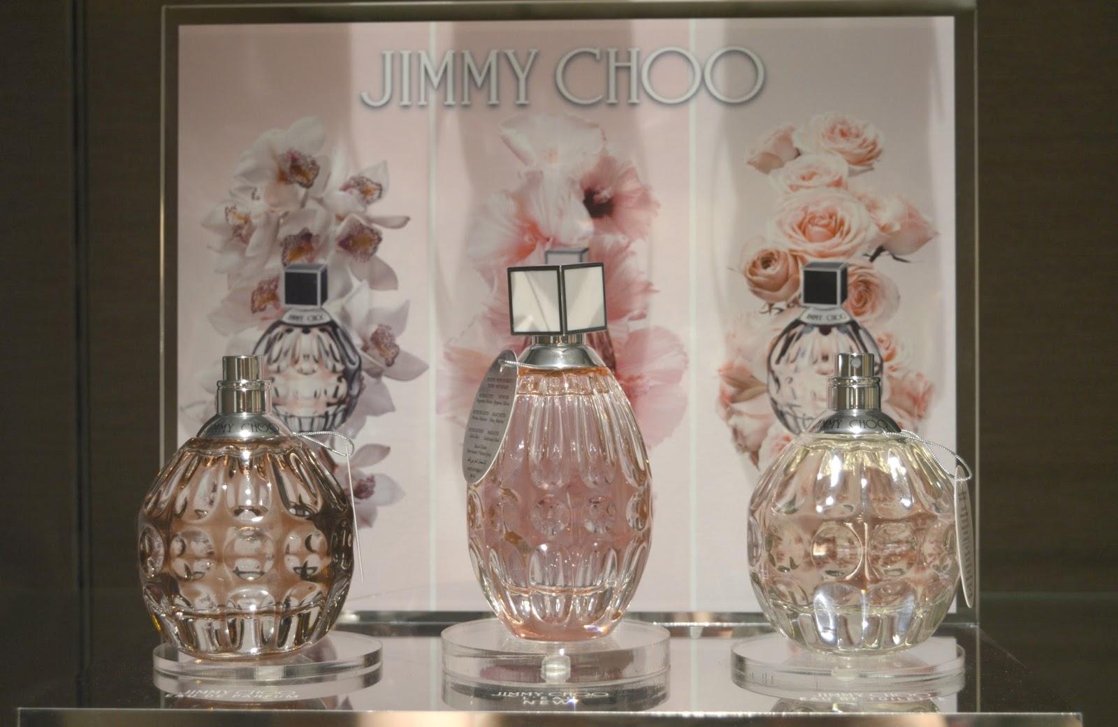 Summer Fragrances at House of Fraser, Intu Metrocentre - Jimmy Choo L'Eau