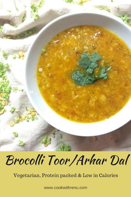 Brocolli Toor/Arhar Dal