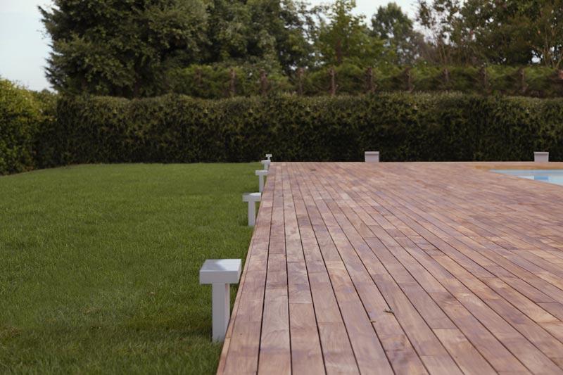 progetto outdoor piscina by ZDA architettura